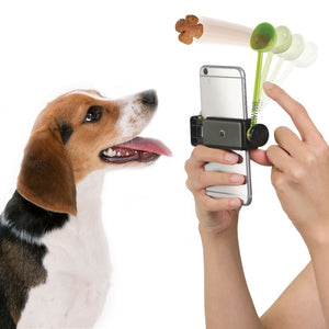 Treat Launcher Dog Attention for Perfect Photo Fits all Smartphones