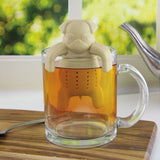 Cute Pug in a mug Silicone Tea Infuser Strainers Filter