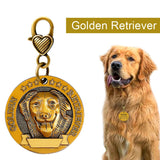 Dog ID Tag Engraved Personalized
