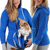 Big Pocket Hoodies Cat Dog
