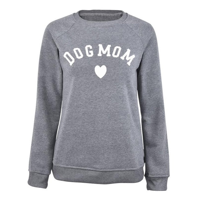 Dog Mom Women's Long Sleeve Sweatshirt