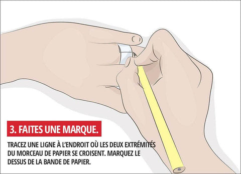 guide taille bague crayon