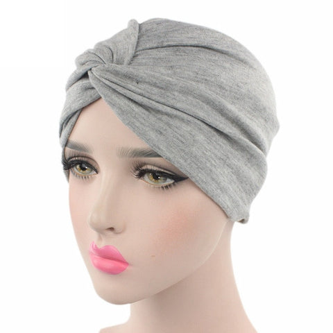 Bonnet Hijab <br> Noeud