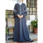 Robe Abaya Chic bleue Muslim Mine