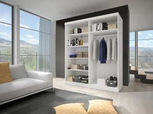 Bedroom Living Room Large Wardrobe VISTA Modern Design High Quality