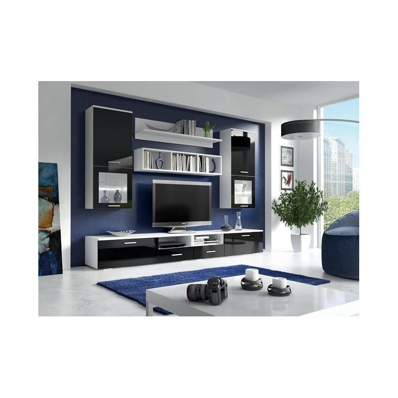 Living Room Display Wall Unit FRANCO Modern Design High Quality