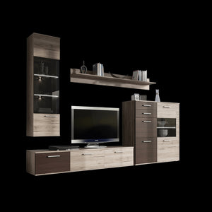 Living Room Display Wall Unit BELLANO LUX Modern Design High Quality