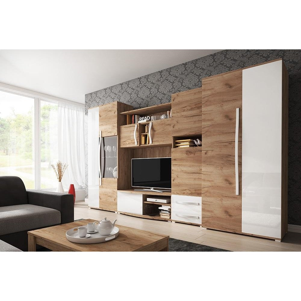 Living Room Display Wall Unit LORA Modern Design High Quality