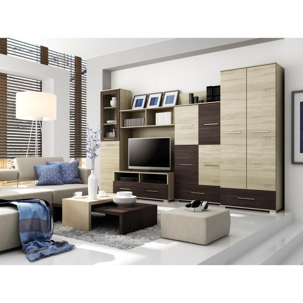 Living Room Display Wall Unit NAPOLI Modern Design High Quality