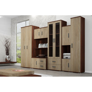 Living Room Display Wall Unit RODOS Modern Design High Quality