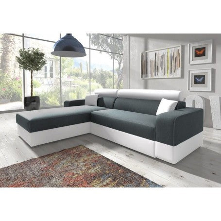 Living Room 3 Seater Corner Sofa Bed INFINITY LUX Modern Design High Quality