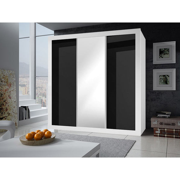 Bedroom Living Room Large Wardrobe LUCCA Modern Design High Quality