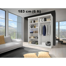 Bedroom Living Room Large Wardrobe MULTI 3 Dimensions Modern Design High Quality