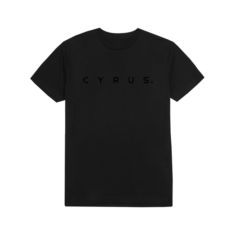 Cyrus Essential T-Shirt - Black