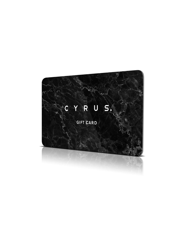 Gift Card - Cyrus Clothing