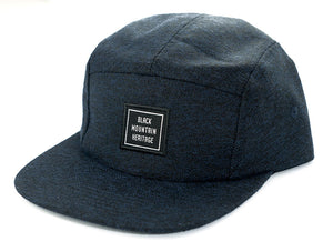Snapback Cap RUGGED navy - Black Mountain Heritage