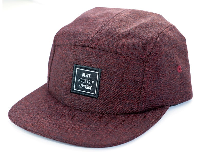 Snapback Cap RUGGED weinrot - Black Mountain Heritage