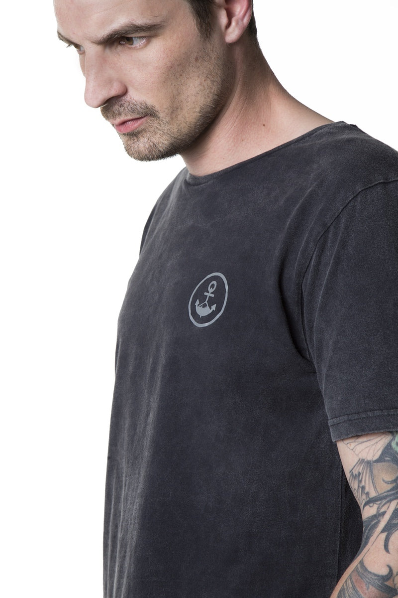 T-Shirt Men SOMBER grey - Black Mountain Heritage