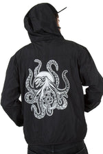 Windbreaker Unisex KRAKEN schwarz - Black Mountain Heritage