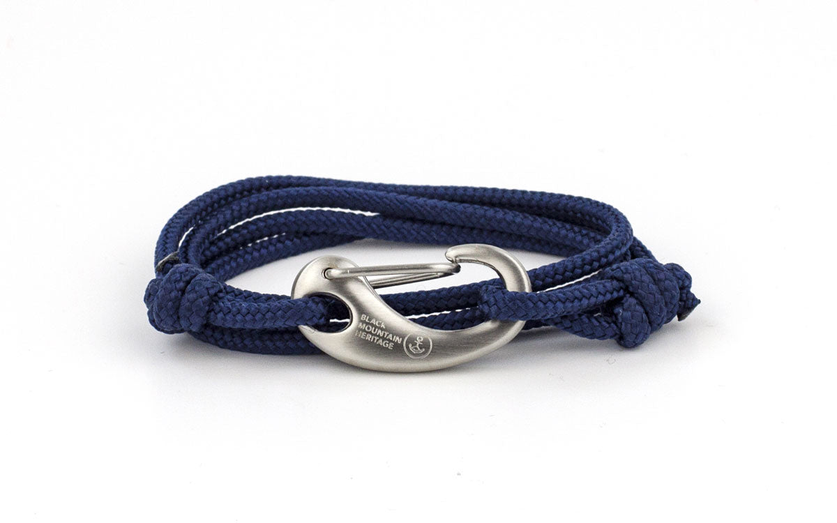 Karabiner Armband KAYAK navy - Black Mountain Heritage