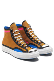 CHUCK 70 TAPE SEAM HI BROWN/WHITE
