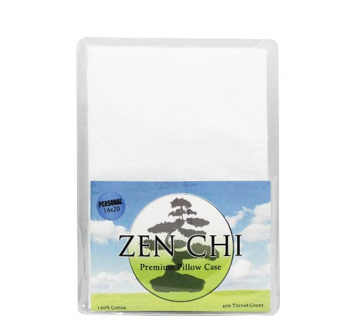 "ZEN CHI Buckwheat Pillow Case 100% 400 Thread Count Premium Pillow Case - Fits All Personal/Japanese Sized Pillows (14"" X 20"")"