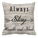 Kissenday 18X18 Inch Though She Be But Little She is Fierce Inspirational Quote Saying Cotton Polyester Decorative Home Decor Sofa Couch Desk Chair Bedroom Car Birthday Gift Square Throw Pillow Case