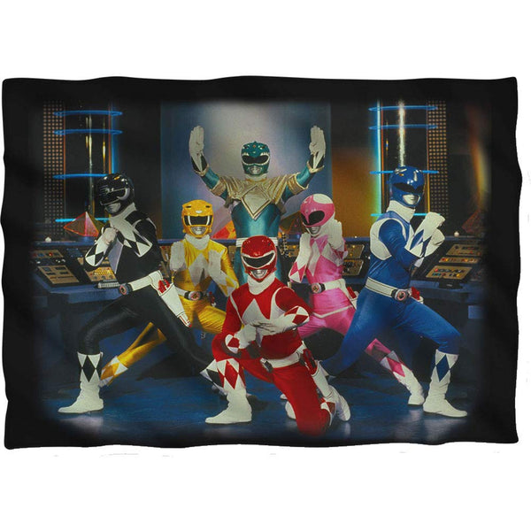 Power Rangers Stance Pillow Case (Front/Back Print)