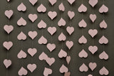Wedding decorations - Wedding garland - Heart garland - Pastel pink garland - Paper garland - Wedding garland - Baby shower - Bridal shower