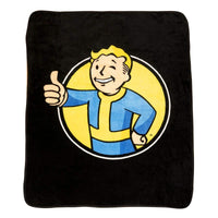 JUST FUNKY Fall-BL-7283-Jfc Fall Out Pip Boy Fleece Blanket