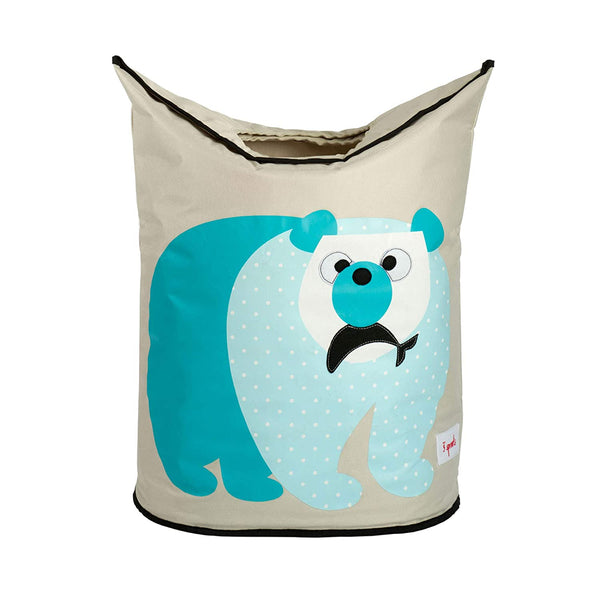 3 Sprouts Baby Laundry Hamper Storage Basket Organizer Bin for Nursery Clothes, Deer
