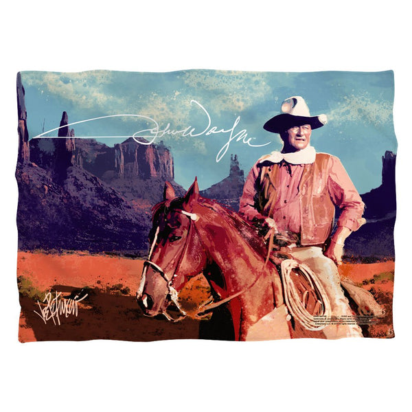 John Wayne Monument Man Pillow Case