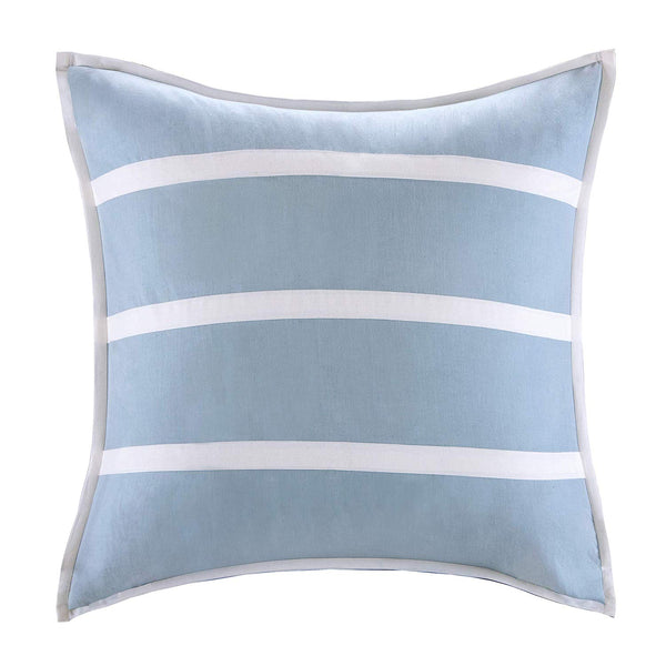 Harbor House Unisex Crystal Beach Quilted Sham -Euro Blue Pillow