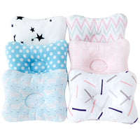 Muslinlife Soft Cotton Shaping Pillow Head Baby Kids Pillow Cushion Infants Baby Pillow Sleep Positioner Dropship