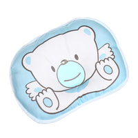 Cute Cartoon Bear Newborn Baby Head Pillow Prevent Babies From Turning And Falls Comfortable Sleeping Durable Safe Pillow