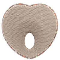 Flat  Toddler Neck Support Protection Heart Shape Anti Roll Nursing Positioner Memory Foam Baby Pillow Bedding Infant