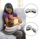 Baby Breastfeeding Pillows Layered Adjustable Nursing Cushion Infant Pillow