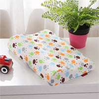 40x25cm Children Baby Pillows Soft Rebound Memory Foam Pillow Home Bed Sleeping Cushion Bedding 4 Colors Breathable Washable