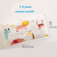 Neck Protection Pillow For Baby Cotton Cartoon Infant Nursing Pillow Kids Room Bedding Candy Color Children Pillow 0-12 years