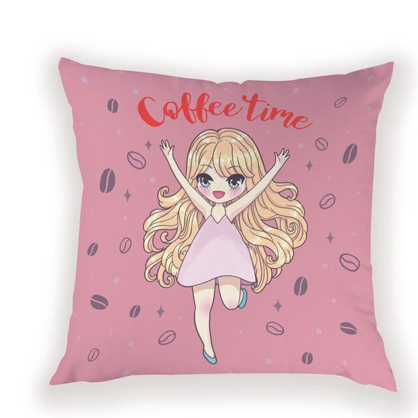 Cartoon Portrait Modern Throw Pillows Home Decoration Housewares Nordiccushions Cover For Home Bedrooms Pillowcases On Cushion