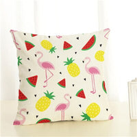 Crane Cushion Cover Home Decor Cushion Case Houseware Throw Pillowcase Linen Square 45x45cm Cushion Cojines