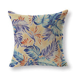 New Design Toss Pillow Morocco Flowers Cushion Cover Seat Cover Large Cotton Linen Houseware Home Decor Printing Cover Pillow