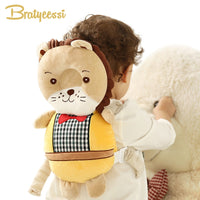 New Baby Pillow Head Protection Pad Cartoon Kids Backpack Protector Pillow Toddler Walking Assistant Baby Safety Products Size L