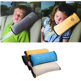 Soft Kids Car Auto Safety Seat Belt Vehicle Harness Shoulder Pad Cover Children Protection Cushion Support Pillow For Boys Girls
