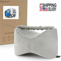 Knee Pillow Side Sleepers Leg Support Sleeping Cushion Hip Back Pain Relief USA