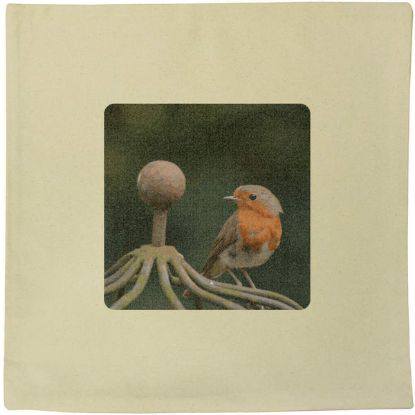 40cm x 40cm 'Robin' Canvas Cushion Cover (CV00003106)
