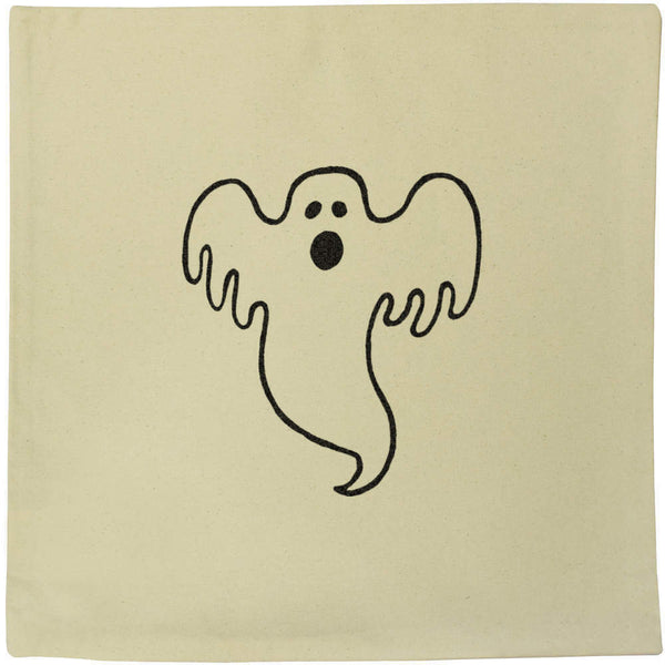 40cm x 40cm 'Ghost' Canvas Cushion Cover (CV00000665)