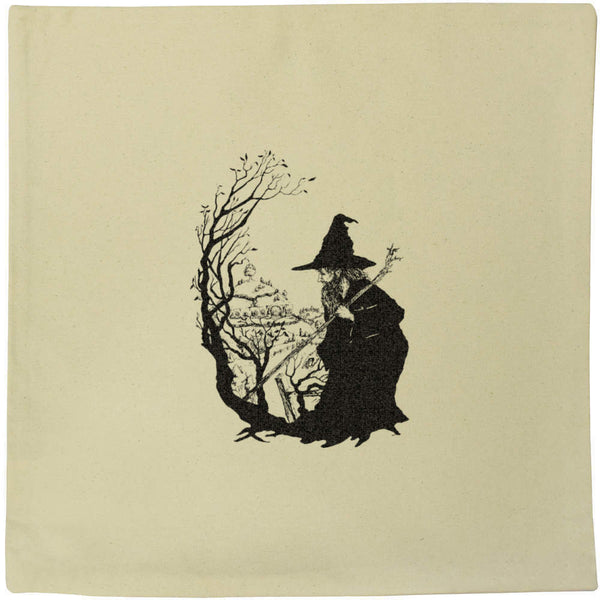 40cm x 40cm 'Wizard' Canvas Cushion Cover (CV00000241)