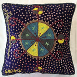Throw Pillow Cushion Cover Pillow Sham Hand Beaded by Jean Baptiste Jean Joseph