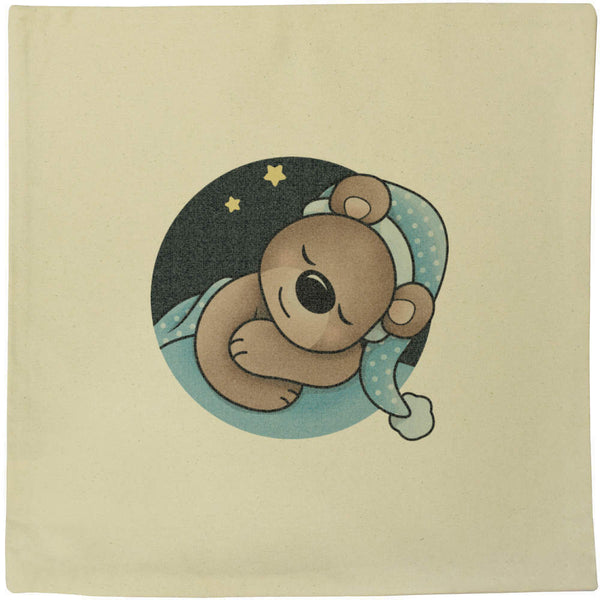 40cm x 40cm 'Baby Bear Boy' Canvas Cushion Cover (CV00011080)
